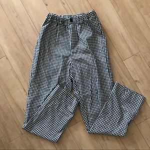 Brandy Melville gingham Tilden pants